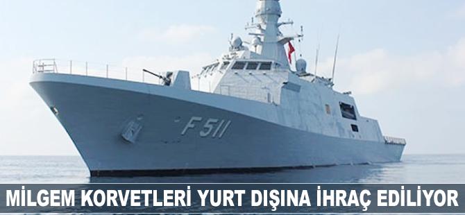 Denizaltı Savunma Harbi ve Keşif Karakol Gemisi'nin ihracında geri sayım