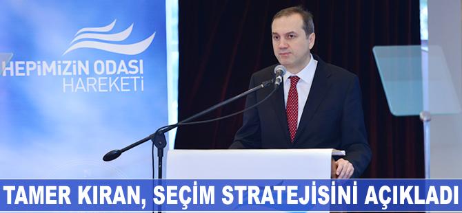 Tamer Kıran seçim stratejisini açıkladı