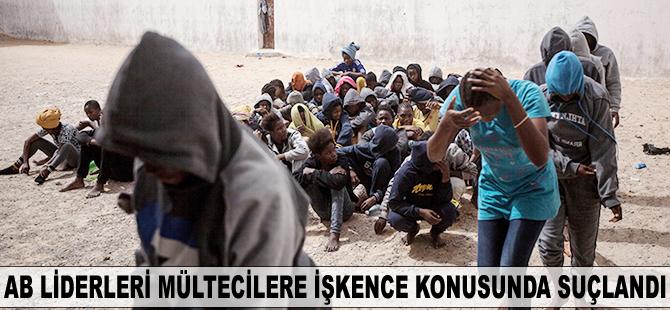 AB liderleri mültecilere işkence konusunda suçlandı